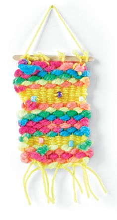 Passport to Imagination Week 6 Kids Destination Project Textural Weaving