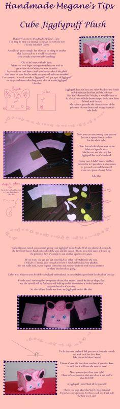 Cube Pokemon Step by Step! by Handmade-Megane