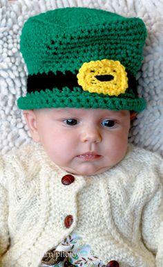 Baby Leprachaun Hat