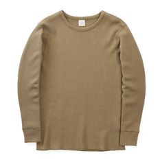 The Real McCoy's Military Thermal Shirt - Olive - ALL PRODUCT - CATEGORIES - Superdenim