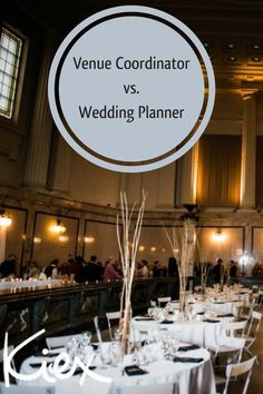 Although we compliment each other very well, a Venue Coordinator and a Wedding Planner play very different roles in the planning and physical execution of the wedding day. Read more  on the blog! Melanie Parent Events - Winnipeg Event Planner #winnipeg #wedding #winnipegwedding