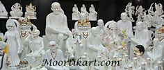 Moortikart, since establishment, is involved in manufacturing and supplying a sturdily constructed range of Marble Statues. Some product range are Marble Hanuman Statue, Marble Sai Baba Statue.Our entire product range is hand crafted using premium quality material and marble, which we procure from the well-known vendors of industry.