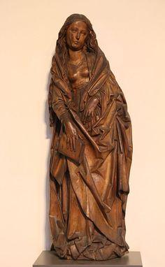Tilman Riemenschneider Maria ca.1490-2 - Category:Tilman Riemenschneider - Wikimedia Commons