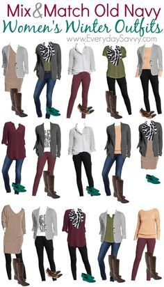 Are you having the winter blahs and want a little pop of color to your wardrobe? .Check out our new Mix and Match outfits from Old Navy board. As always these pieces mix and match to make 15 outfits. My guess is you already own a few of these pieces and you could have …