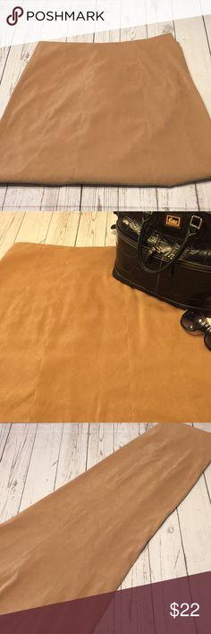 Dream Skirt•   feels like Suede Lovely Long Skirt•  Timeless!! Polyester/ Spandex Cato Skirts A-Line or Full