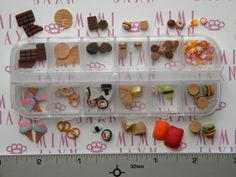100pc Polymer Clay Miniatures Decoden DIY SET by MIMIJAXN on Etsy, $17.00