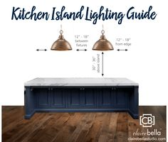 #Kitchen designers, take a look at @clairebella's lighting guide to help select the perfect pendant #light or chandelier for your client's kitchen-island or dining room.