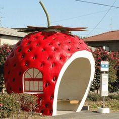 Japan bus shelter