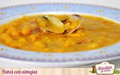 Spanish Food, Soup Recipes, Ethnic Recipes, Kitchen, Gastronomia, Easy Meals, Spanish Kitchen, Clams, Primitive Kitchen