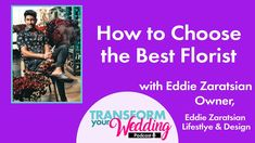 How To Choose The BEST Florist Wedding Vendors, Wedding Tips, Fun Learning, Floral Design, Advice, Good Things, Couples, Youtube, Marriage Tips