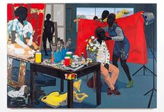 Kerry James Marshall, Untitled (2014). Courtesy of the Metropolitan Museum of Art.