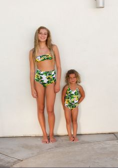 Fruit Print Kids One-Piece Bathing Suit by American Apparel Kids #americanapparelkids #summer #kidsfashion
