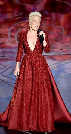 P!nk  2014 Oscars ~ Somewhere Over The Rainbow