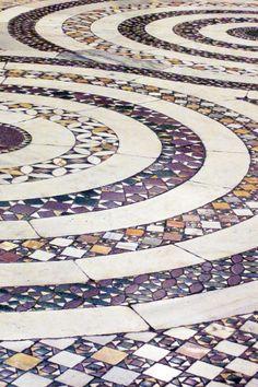 Pavimento cosmatesco della Cappella Sistina