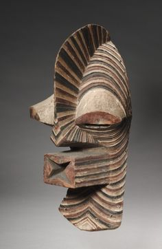 Africa | Mask from the Songye people of the DR Congo | Wood and pigment | ca. 1930s - Art Curator & Art Adviser. I am targeting the most exceptional art! See Catalog @ http://www.BusaccaGallery.com