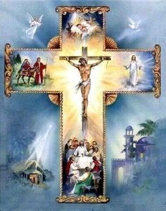 The Cross of Jesus Christ is Precious and Life-giving Pictures Of Jesus Christ, Religious Pictures, Religious Icons, Religious Art, Catholic Religion, Catholic Art, Roman Catholic, Holy Cross, Jesus On The Cross