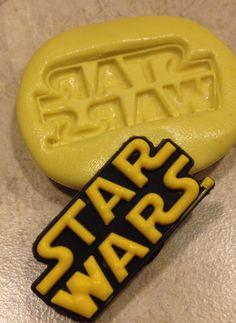 Star Wars Mould Cake Pops Sugarcraft Candy Chocolate Resin FONDANT MOLD food safe Soap
