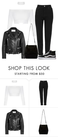 """STRIPES"" by kwasheretro on Polyvore featuring Topshop, Acne Studios and Vans"