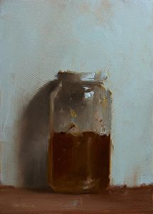 Jar of Marmalade by Neil Carroll in the FASO Daily Art Show