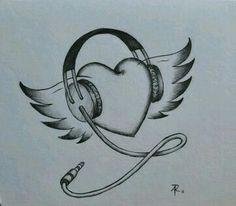Dibujos De Amor Faciles 3 Ella 3 Pinte