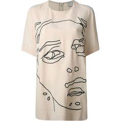 Stella McCartney 'Jennifer' top ($580) ❤ liked on Polyvore