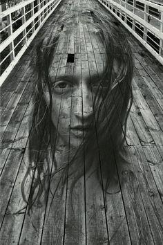 Boardwalk Portrait, Moscow, Russia