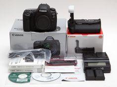 Canon EOS 5D Mark IV 30.4MP Digital SLR Camera  BG-E20 Grip UNDER USA WARRANTY