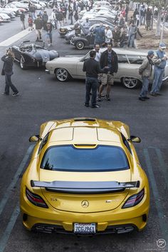 Mercedes SLS AMG Black Series at Cars and Coffee Irvine (CA) (by I am Ted7)