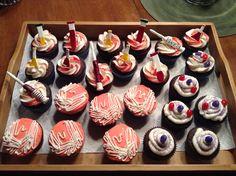 Lab week cupcakes.