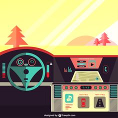 Safe driving tips on foreign soil. Safe Driving Tips, 2017 Inspiration, Vector Photo, Gps Navigation, Android Apps, Vector Free, Geek Stuff, Animation Reference, Smart Phones