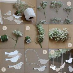 Decoração simples, fácil e delicada para festa em casa. Blog decoração Casa Comida e Roupa de marca.