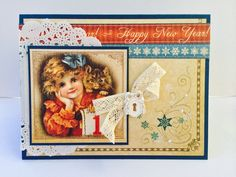 Graphic 45 Place In Time New Years Cards | www.laurentaylormade.com