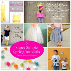 Fun Spring Projects Round up