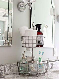 67 cool small bathroom storage organization ideas
