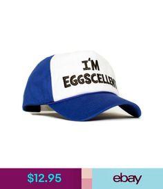 12.95 - Embroidered Eggscellent The Regular Show Royal Blue Hat Cap  Eggcelent Excellent  ebay  Fashion 87cbd1cf966