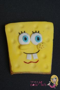 Galleta fondant Bob Sponge