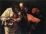 My favorite painter...     Carvaggio's The Incredulity of Saint Thomas