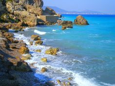 Kato Petres - Rhodes, Greece | Οι Κάτω Πέτρες είναι μια από … | Flickr Mykonos, Santorini, Oceans 7, Greece Photography, Kato, Greek Islands, Rhodes, View Image, Athens