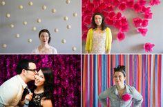 DE LUNARES Y NARANJAS: Photocall para bodas