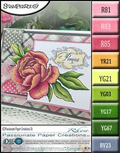 Passionate Paper Creations: Peonies Stampendous