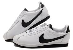 http://www.shoxnz.com/nike-cortez-men-leather-shoes-white-black.html NIKE CORTEZ MEN LEATHER SHOES WHITE BLACK Only $79.00 , Free Shipping!