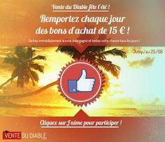 Vente du diable - Facebook - Instant Win #Socialshaker
