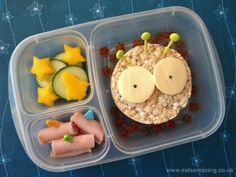Eats Amazing - Zog the Alien themed lunch