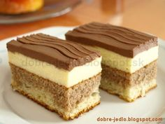 Czech Recipes, Russian Recipes, Sweet And Salty, Cheesecake Recipes, Easy Desserts, Food Dishes, Amazing Cakes, Coco, Baking Recipes