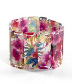 DIY bracelet plastique dingue
