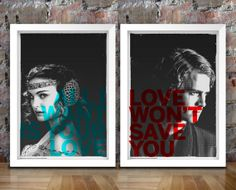 Star Wars Inspired Print Anakin and Padme by thedesignersnursery, $49.00