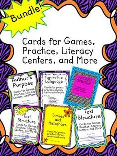 Do you love the cards for games, practice, literacy centers and more, but can't decide which set to buy?  I now have six different sets, so I thought it would be a good time to bundle them together and offer a 30% discount.  You will save 30% over buying each of the sets individually.