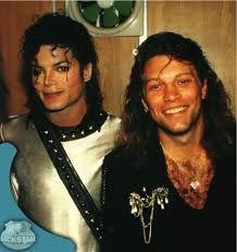 Michael Jackson and Jon