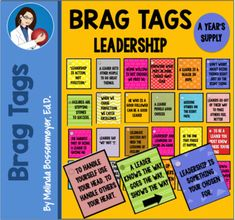 Brag Tags, Leadership Skill, Bullying Prevention, Computer Lab, Plastic Card, Student Motivation, Playgrounds, Tag Art, Physical Education