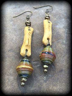 Autumn Artisan Earrings by brendalou2 on Etsy